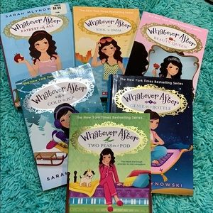 """Set of 6 """"Whatever After"""" series"""